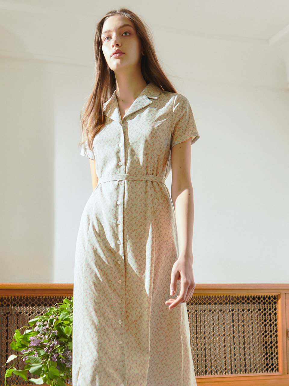 [BREEZE] Antique Romance Dress_MINT (CTD1)